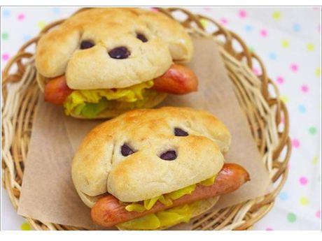 Dog canine pet human animal bond food shape Hot Wiener sausage