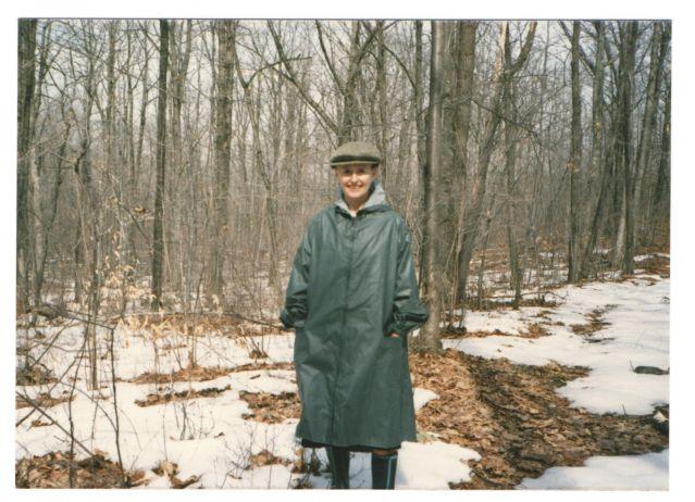 Dorothy Dinnerstein in Middletown, NY (1988)
