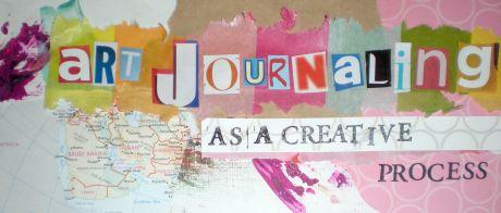 Art Journaling Banner