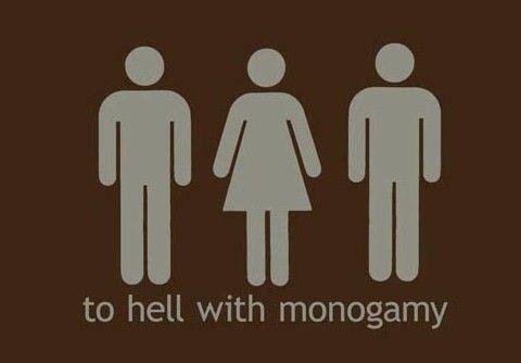 Monogamous relationship means