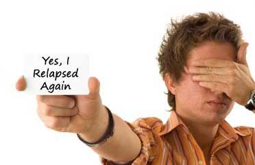 Yes, I relapsed again