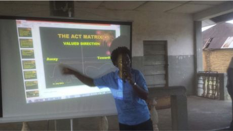 Hannah Bockarie Teaching the Matrix in Sierra Leone