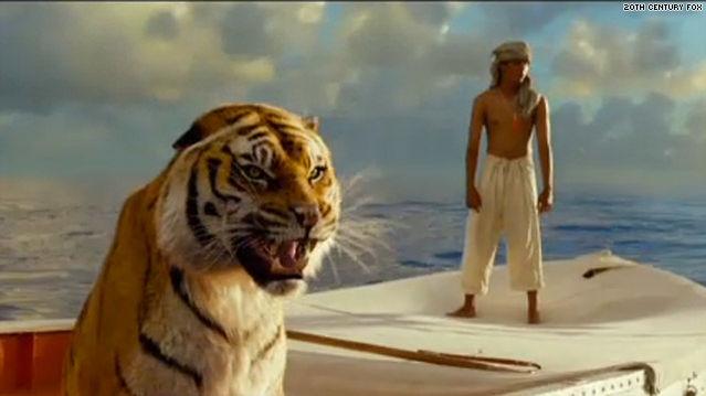 animals in life of pi movie
