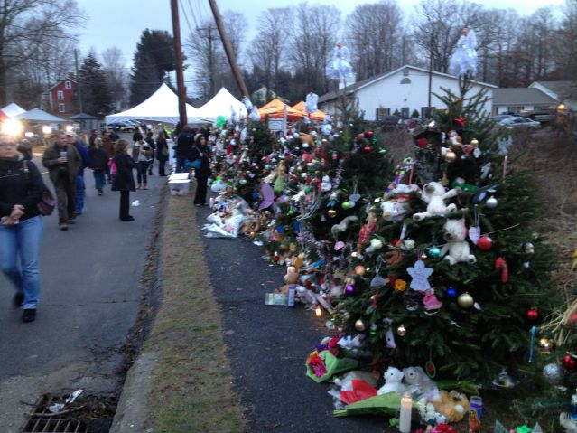 Newtown Christmas Tree Memorial