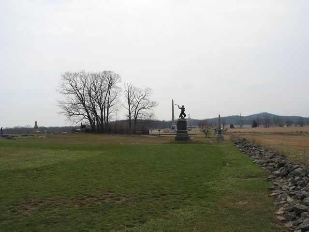 The High Watermark at Gettysburg