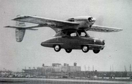Plane carrying automobile