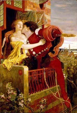 Romeo & Juliet by Ford Madox Brown