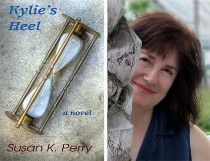 Susan K. Perry and the cover of Kylie's Heel