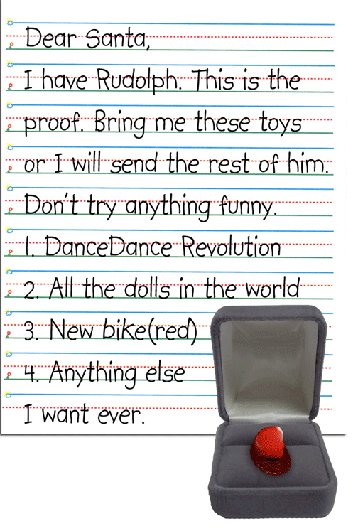 the five funniest kids letters to santa psychology today - Funny Christmas Letters