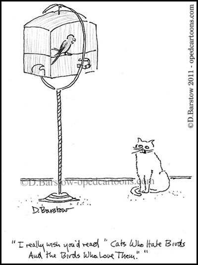 cat- canary cartoon
