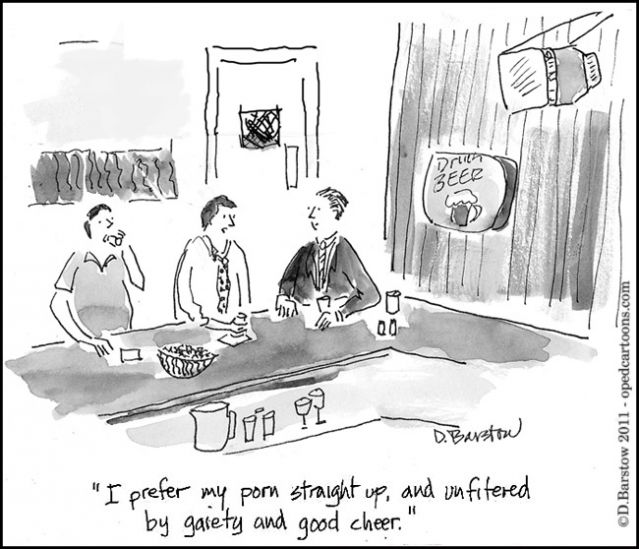 cartoon about pornography