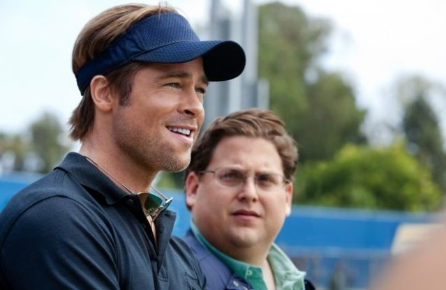 Brad Pitt Jonah Hill Moneyball