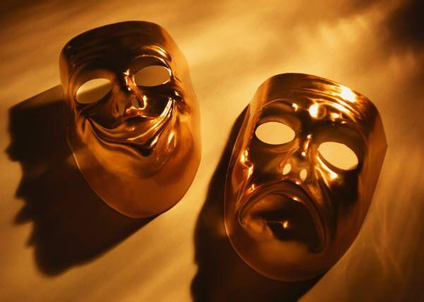comedy-tragedy masks