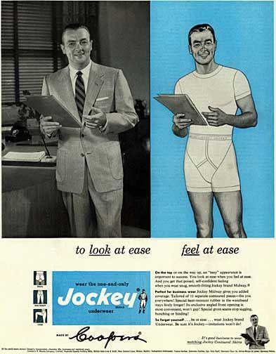 1953 Jockey Underwear ad