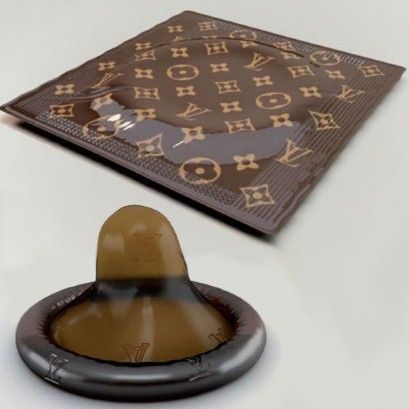 photo of Louis Vuitton condom