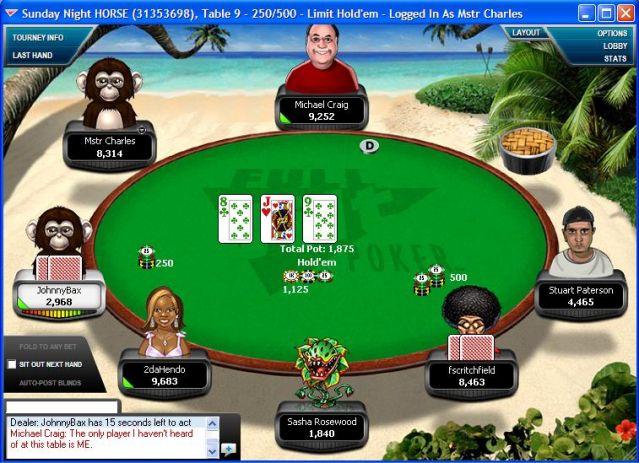 hong kong poker table