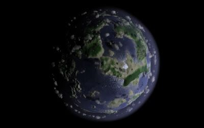 Procedurally-generated Planet