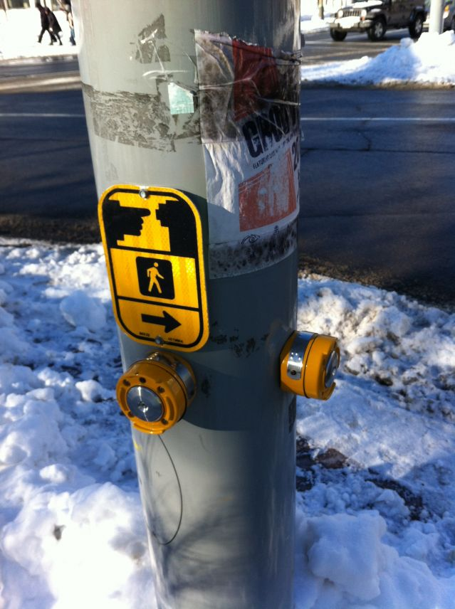 Ottawa crosswalk buttons