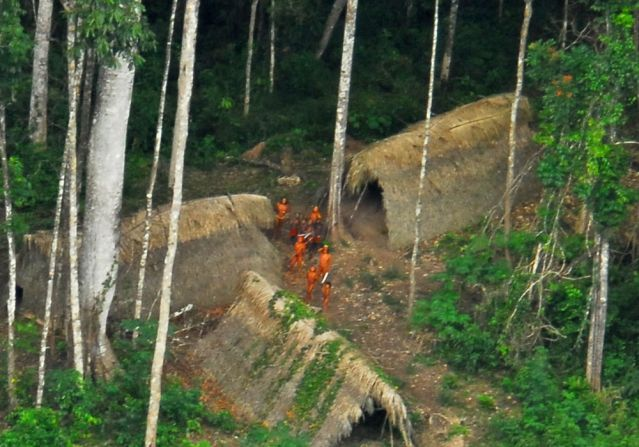 uncontacted tribe photo