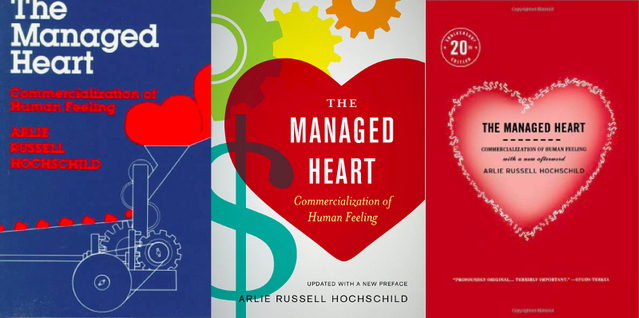 The covers of The Managed Heart