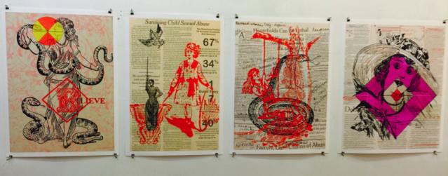 Print series © 2015 Susan Firestone, Photo by Gayil Nalls