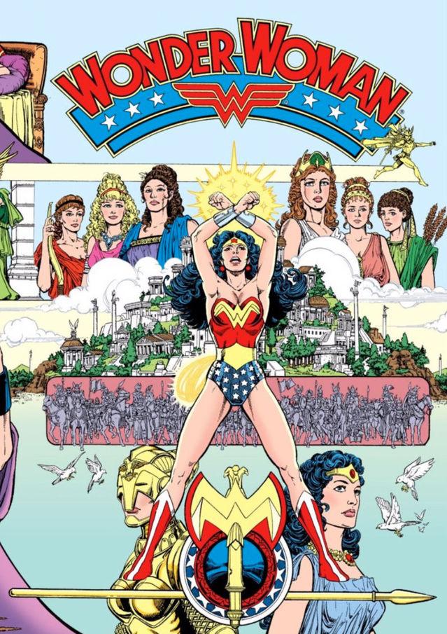 DC Entertainment/ George Pérez; Bruce Patterson; and Tatjana Wood