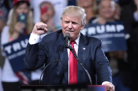 Donald Trump/ wikimedia commons
