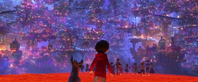 Coco movie, public promotional image