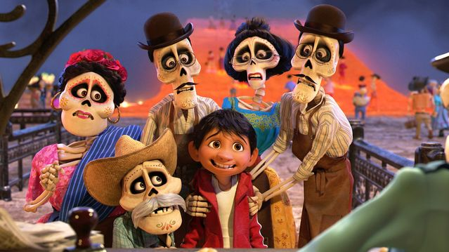 Coco movie, public promotional image used with permission