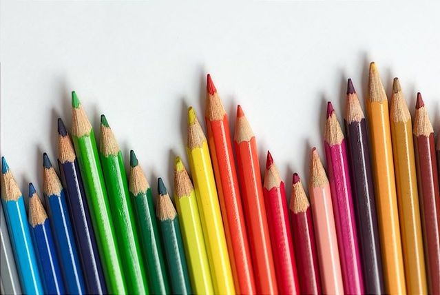 Crayons de couleur, Nicholas Buffler, Flickr Creative Commons