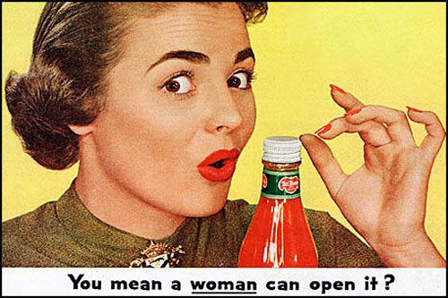 """You Mean a Woman Can Open It?""/Flickr.com/CC By-SA 2.0"