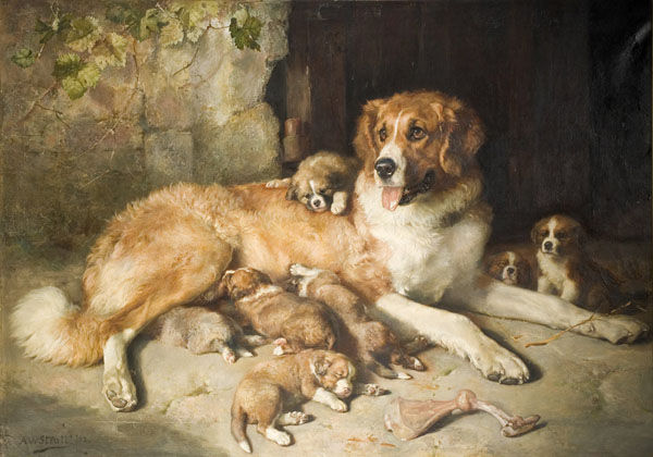 Black Country Museums — Alfred William Strutt painting