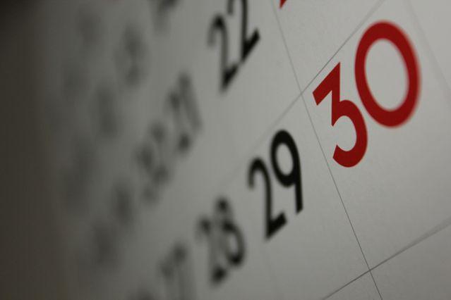 'Calendar' by Dafne Cholet/Flickr Creative Commons