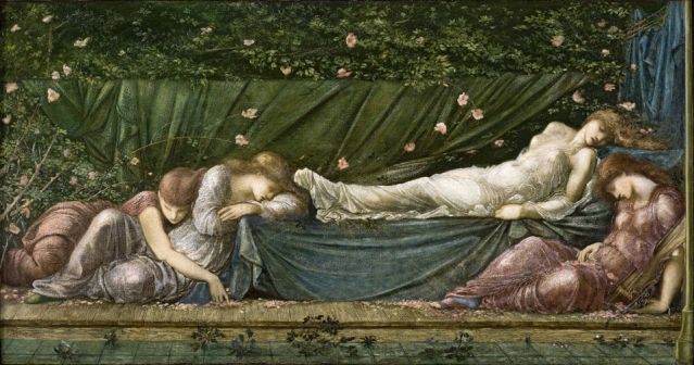 Painting by Edward Coley Burne-Jones, photo via Wikimedia Commons