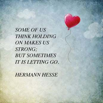 How Can Letting Go Make Us Stronger Psychology Today