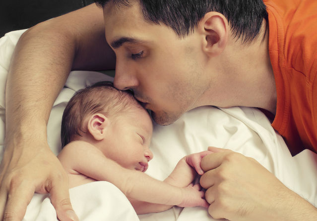 Dad's Psychological Well-Being Impacts His Kids' Development