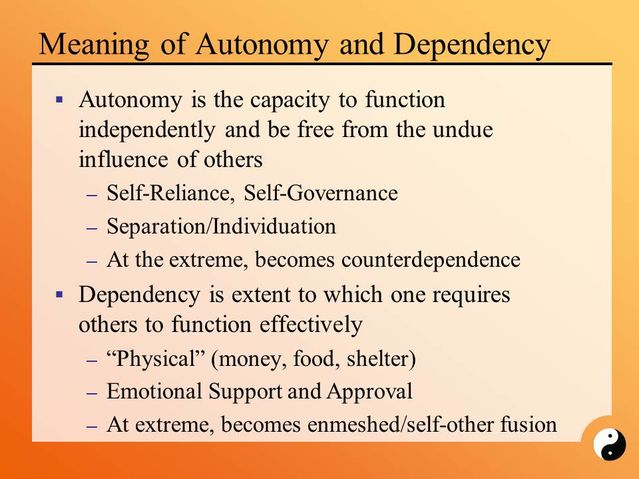 Dependency, Counter-Dependency, and Interdependency