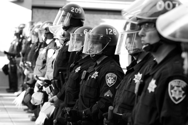 articles supporting police brutality