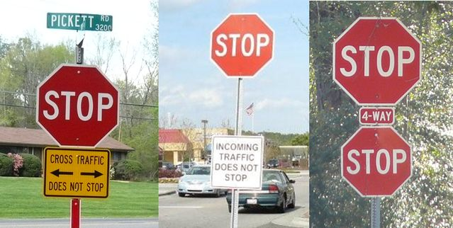 Death By Stop Sign Psychology Today - Car sign meaningsroad signs that confuse drivers are to be scrapped daily mail online