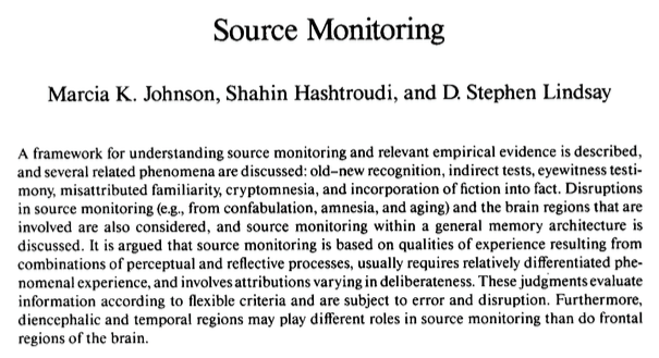 Psychological Bulletin, 1993