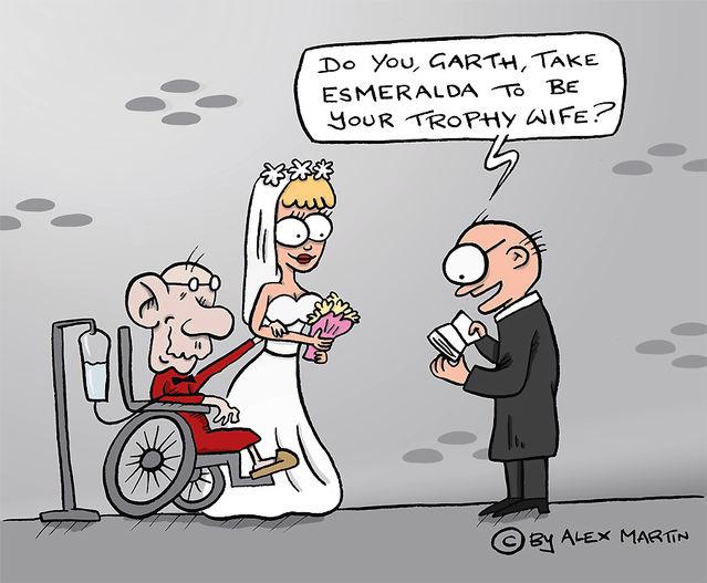 Original cartoon by Alexandra Martin