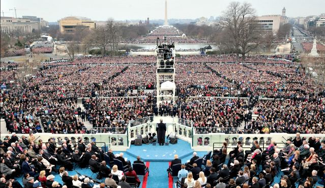 Trump Inauguration: (Crowd) Size Matters, So Who's Lying ...