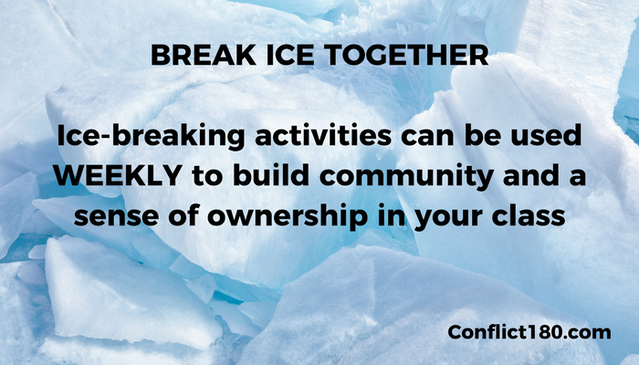 Breaking Ice by Conflict180.com