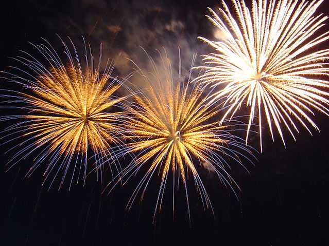 fireworks - Prepare Now For Successful New Year's Resolutions