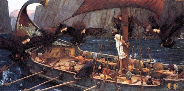 John William Waterhouse's 'Ulysses and the Sirens' (1891). Wikimedia Commons