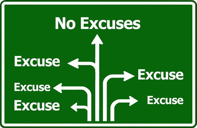 Image result for excuses