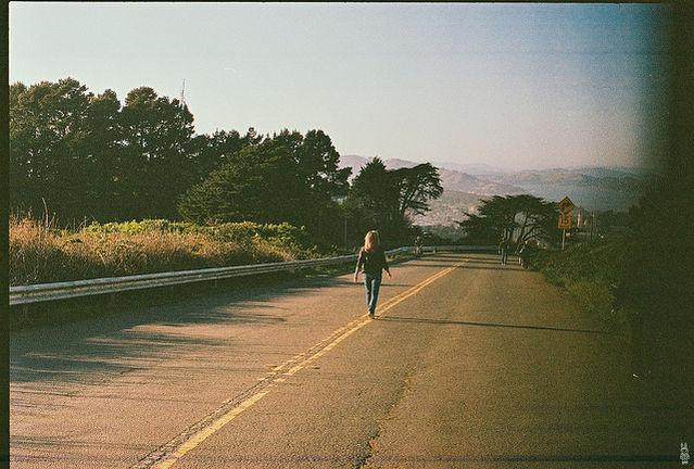 Walking Away, Twin Peaks, San Francisco, CA, by Sunny Lapin, Flickr, (CC BY-SA 2.0)