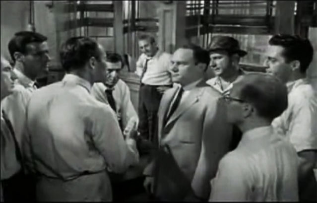 On 12 angry men and morality