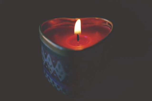 Sexual arousal candle