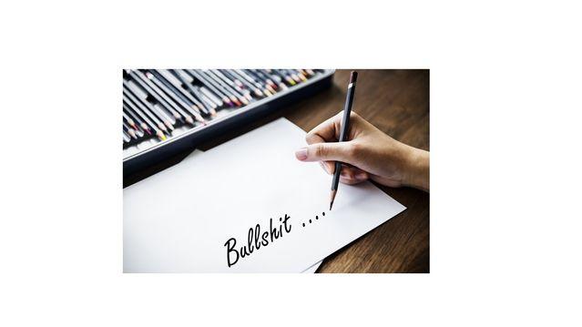how to bullshit a paper